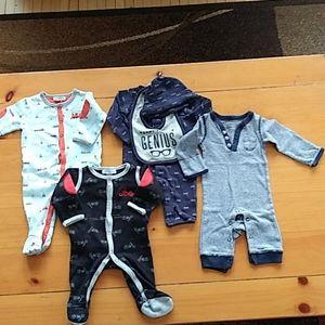 Bundle Of NB pajamas